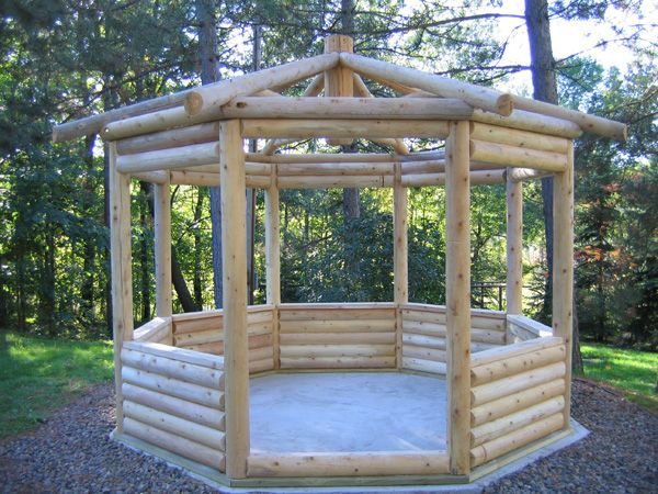 17 best images about gazebos on pinterest gardens trees for Rustic gazebo kits