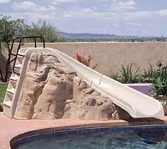 Best 25 Swimming Pool Slides Ideas On Pinterest