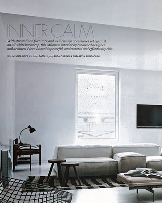 Piero Lissoni 'Extrasoft' modular seating system for Living Divani, no stranger to European editorial.