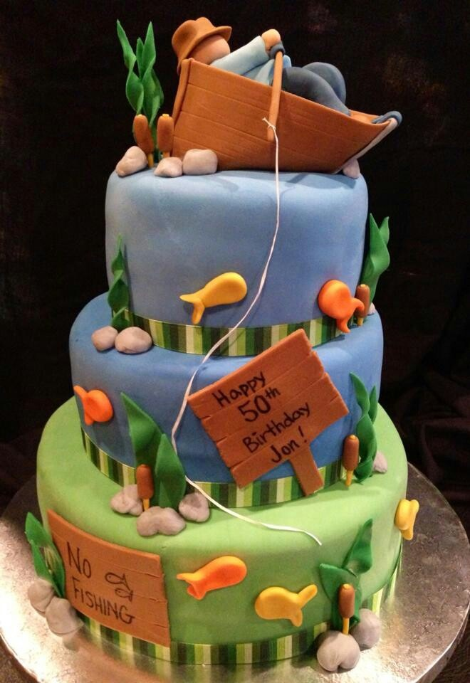 17 Best Images About Fishing Boat Cake On Pinterest The