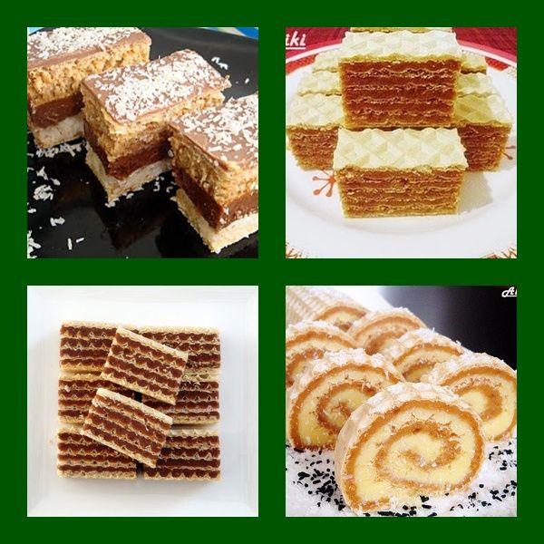 Mamina jela: Božićni i Novogodišnji kolači - Oblatne