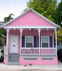 Pink Key West House