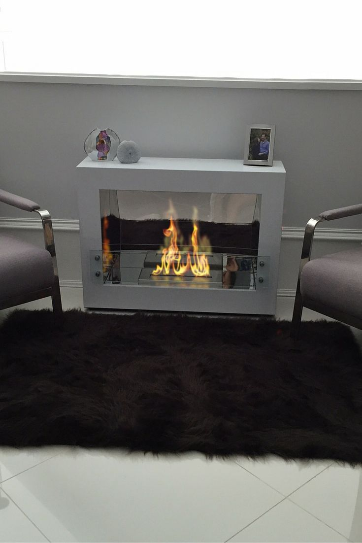 best modern ethanol fireplaces images on pinterest  ethanol  - the bio flame rogue    ul listed free standing ethanol fireplace