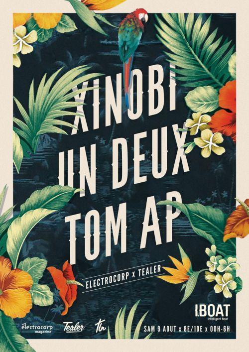 Artwork for Xinobi, Un Deux & Tom AP @ Iboat