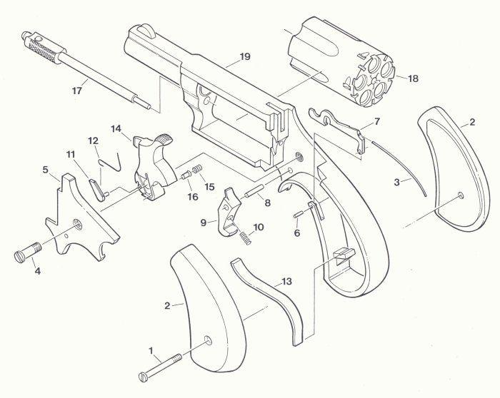 north american arms parts