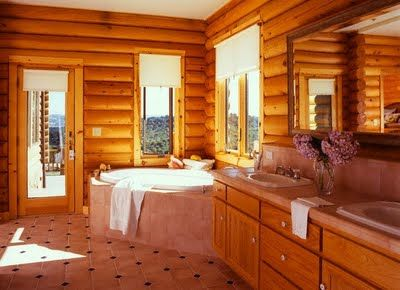 Bathroom Ideas Log Homes 2450 best log cabin homes images on pinterest | log cabins
