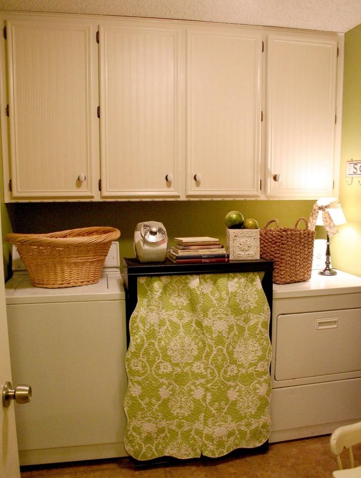 Beadboard Wallpaper For Laundry Room Cabinets Beadboard