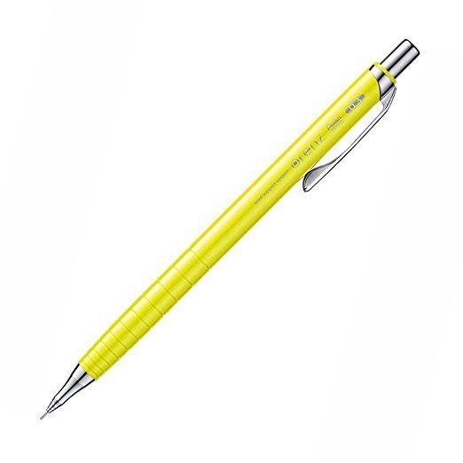 ぺんてる シャープペンシル オレンズ XPP503-G イエロー軸 0.3mm