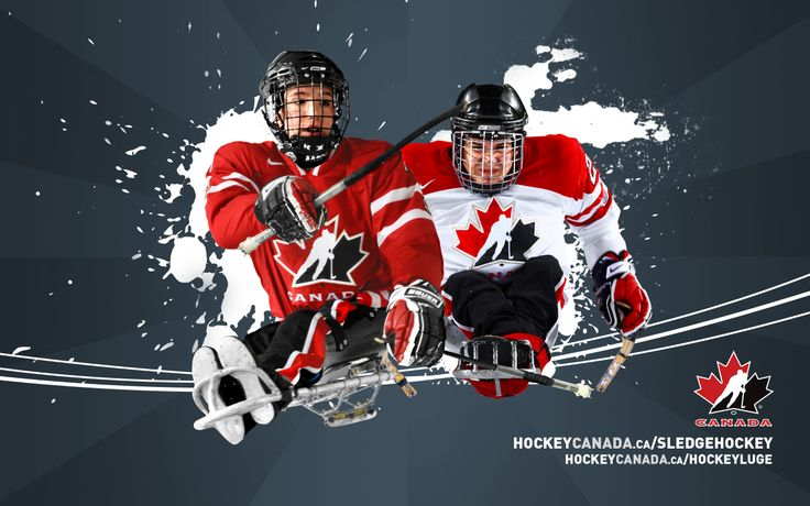 canadian hockey pictures | Downloads - Sledge Hockey