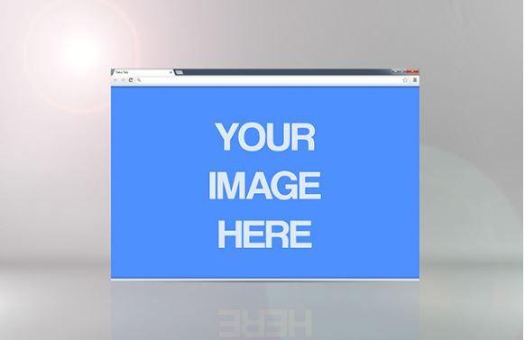Single Website Showcase Mockup Template | ShareTemplates
