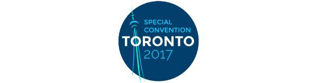 CANADA TORONTO - 2017 SPECIAL CONVENTION - July 2017 Details to be announced / confirmed.  Convention programme in English and French.  With specially invited delegates from France Britain Ireland and United States.  NOTE: This Special July 2017 Convention marks the 90th anniversary of Judge Rutherfords landmark proclamation of Jehovahs 6th trumpet-like judgement in Toronto on Sunday 24 July 1924 at the Freedom for the Peoples Convention as foretold in Revelation 9:12-21.  Application…