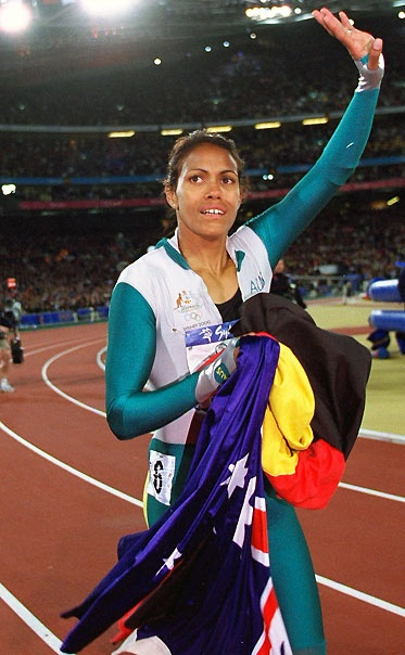 Great Olympic moments Gallery- Cathy Freeman