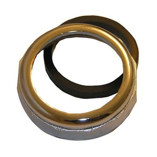 """Lasco 03-1819 1-1/4"""" Chrome Plated Slip Joint Nut with Washer"""