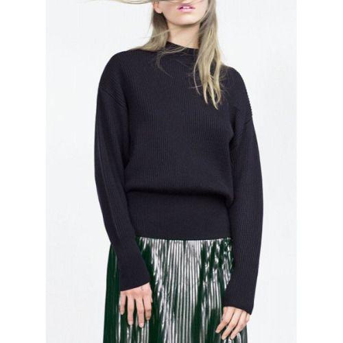 black sweater| $21.90 nu goth pastel goth grunge hipster ...