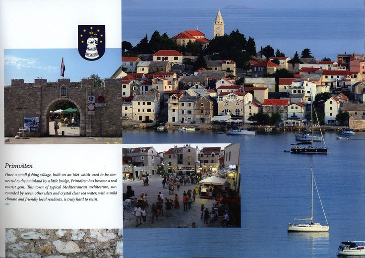https://flic.kr/p/Kr2hZE | Dobro dosli u/ Welcome to Primosten, Grad plaza/ A Town of Beaches; 2015_2, Sibenik-Knin co., Croatia