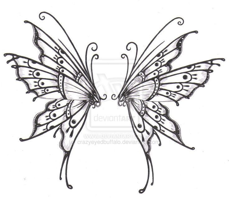 wing tattoo design httpfc04deviantartnetfs44i2011