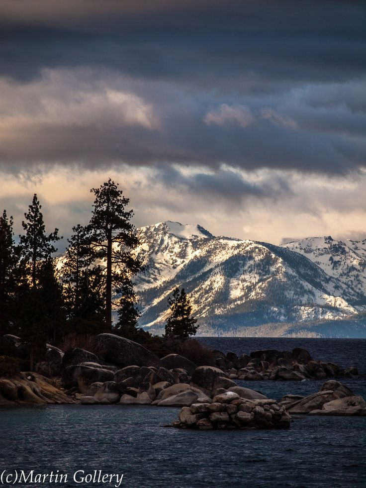 Lake Tahoe East Shore sunrise by Martin Gollery