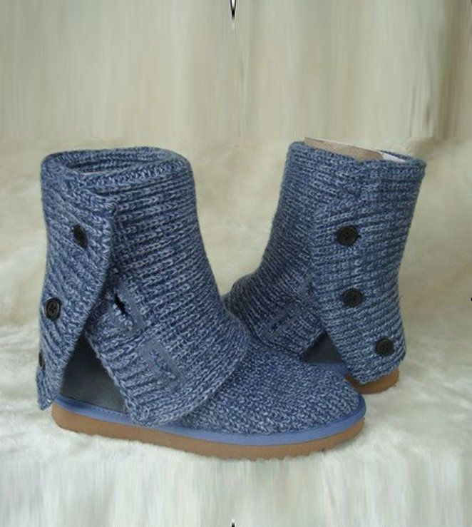 UGG Cardy Classic 5819 Blue Boots