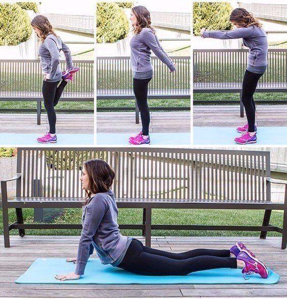 Ежедневная растяжка для того, чтобы чувствовать свое тело и избавиться от крепатуры после тренировки 👌