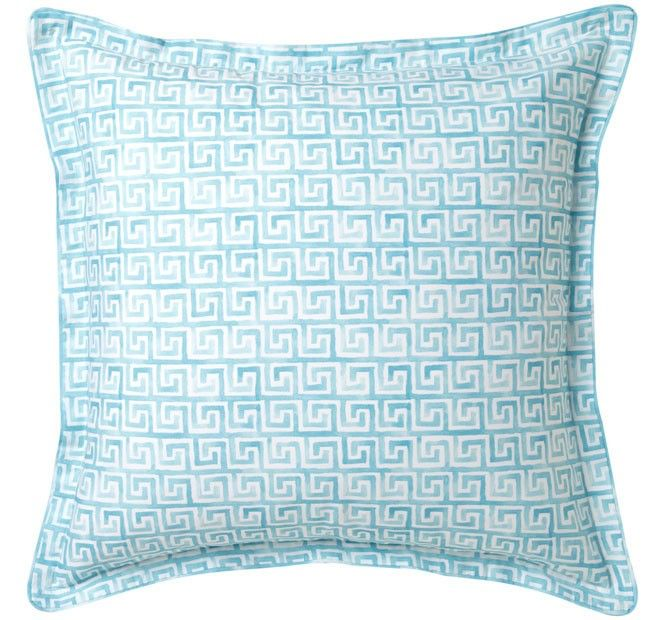 Meandros Quilt Cover Set Range Teal   Manchester Warehouse
