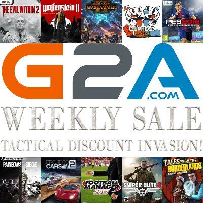 Chollo en G2A: Ofertas de fin de semana en G2A, con ofertas buenísimas en cientos de juegos. Te hemos seleccionado 10, esperamos que te gusten