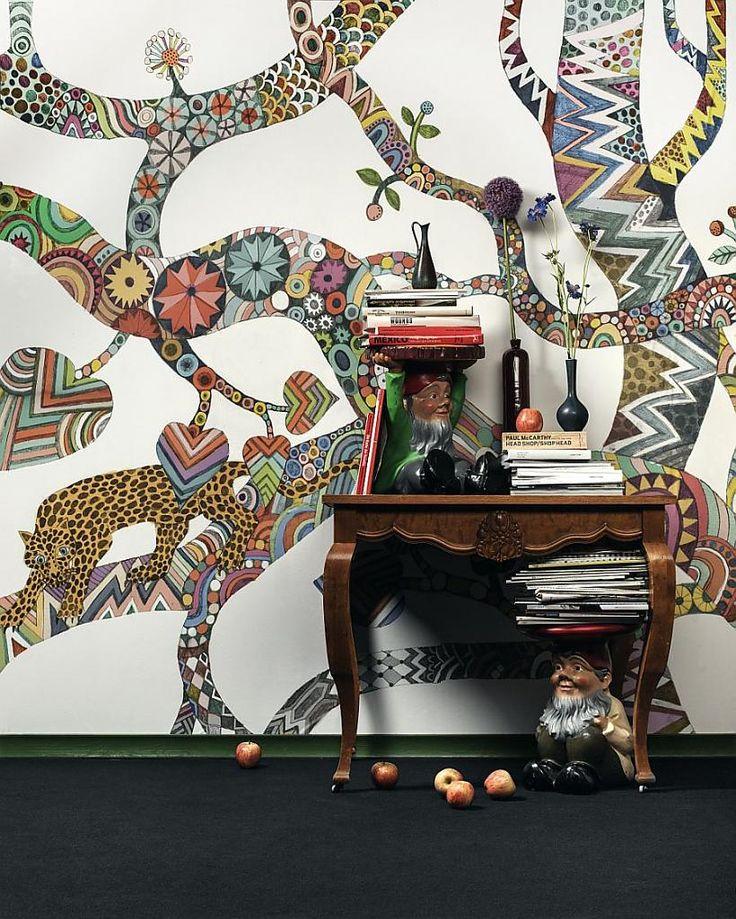 Великолепные настенные росписи для создания модного декора — черпайте вдохновение в нашей коллекции