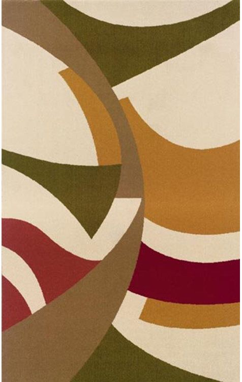 A fun, funky, and lively area rug perfect for a contemporary room, or to contrast solid colored furniture! | Bolero Ivory Rug cort.com: Student