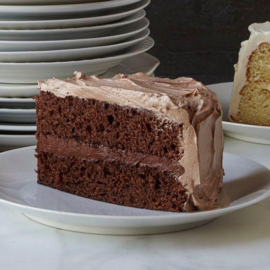 Double-Chocolate Layer Cake | Food & Wine
