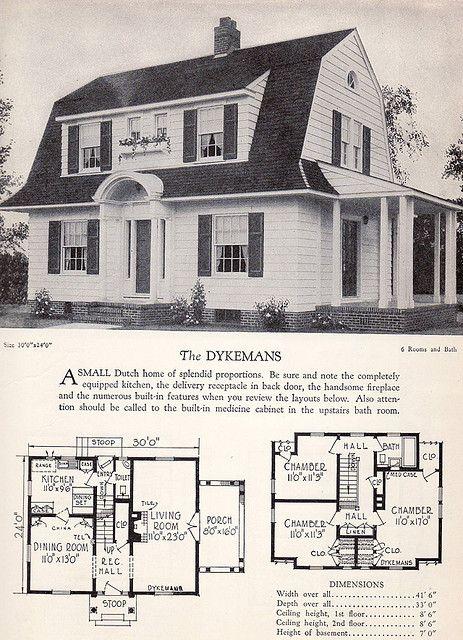 1928 home builders catalog the dykemans catalog dutch for Cbs construction home plans