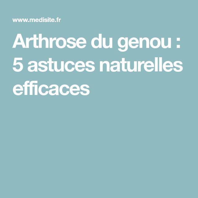Arthrose du genou : 5 astuces naturelles efficaces