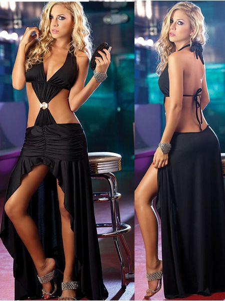 dansclub cotillon vrouwen jurken sexy blote rug jurk nieuwe mode haiter avondjurken pure kleur 2014 gratis verzending $24,99 (free shipping)