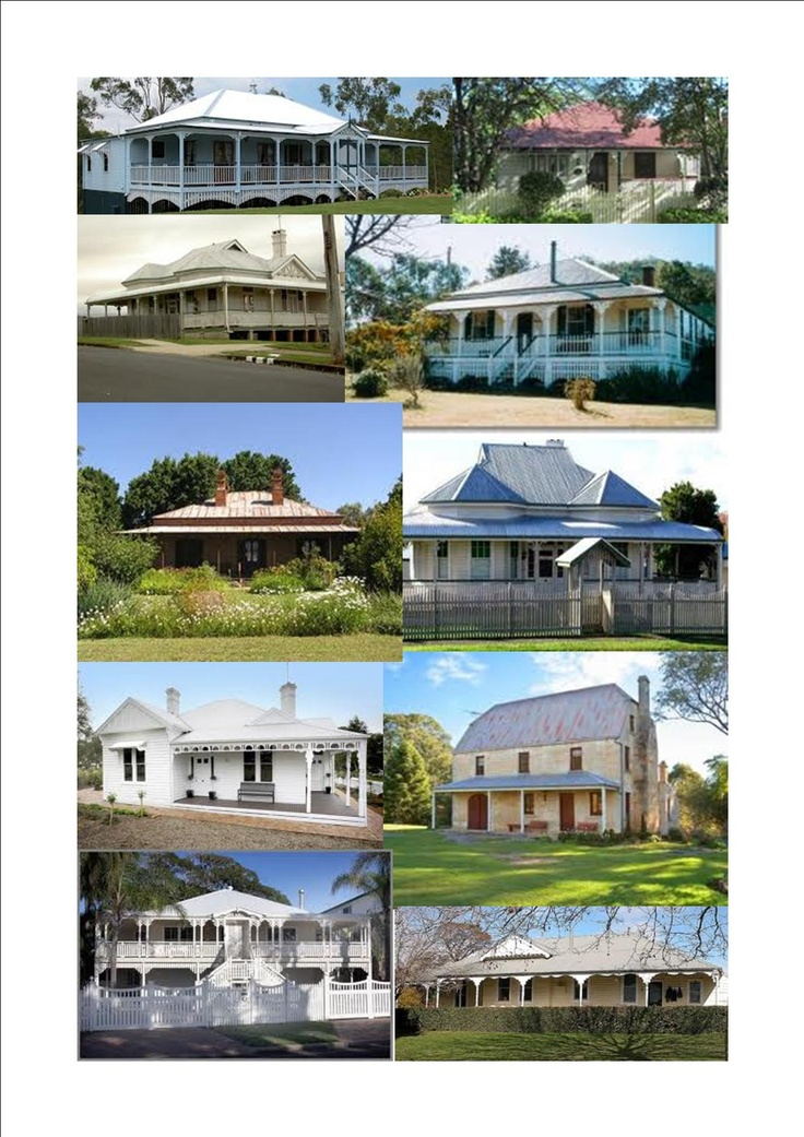 A variety of Australian houses