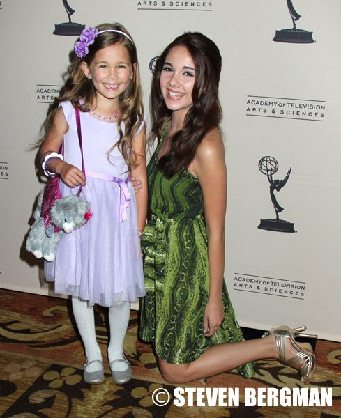 GH's Emma and Molly - Soap Stars Party it up at 2013 Daytime Emmy Nominee Reception | Daytime Confidential #GH50