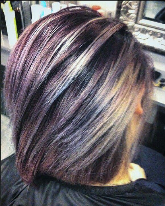 Purple hair inspo
