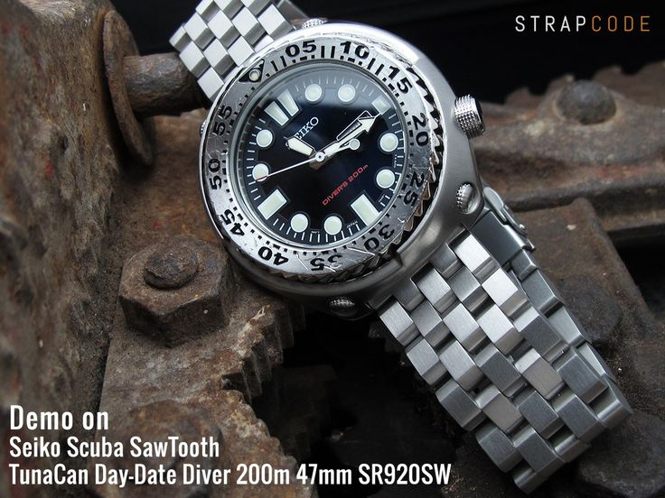 Seiko Scuba SawTooth TunaCan LOOKs different | strapcode