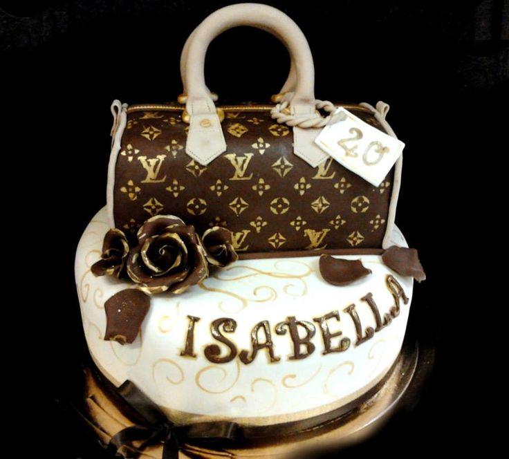 #moda #borsa con la nutella #torta della pasticceria La Mimosa di http://www.simocakedesigner.it