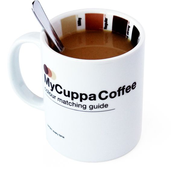 My Cuppa Coffee Mug - with color matching guide