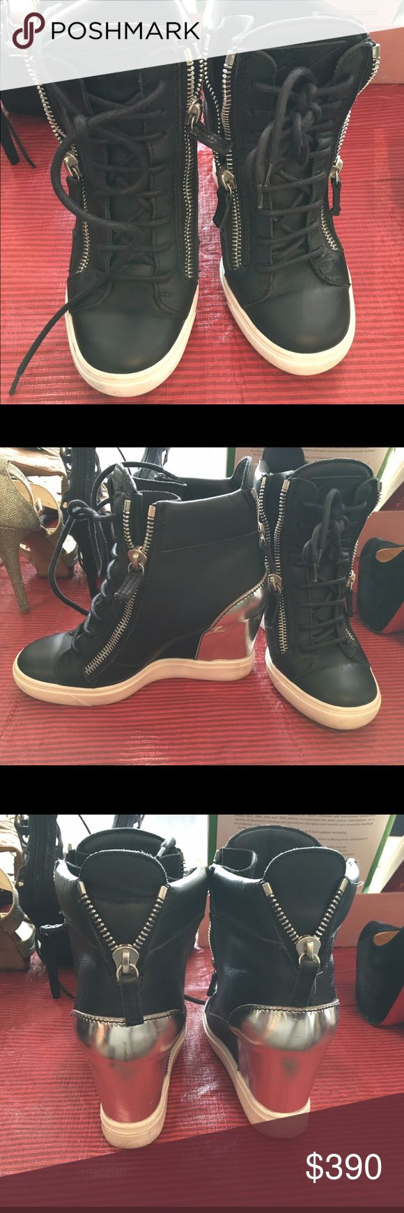 Original Giussepe Zannotti sneakers Original Zannotti wedges sneakers for sale Giuseppe Zanotti Shoes Sneakers