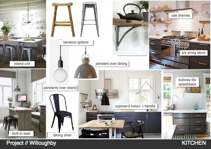 Project Willoughby Kitchen Kitchen Rustic Nordic Summerhouse Moodboard Interior Mood