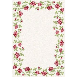 Eternity Rose Garden Rug (6.7' x 9.6')