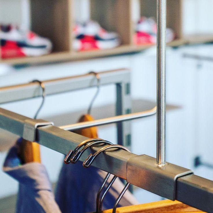 fashion store by OBV #ladenbau #shopfitting #obv #objektbau #bomers #vreden #interiors #interiordesign #shopdesign #design #instagood #photooftheday #photography #macros #retail #retaildesign #store #furniture #furnituredesign #architecture  #instagood #monday #mondaymotivation #fashion #clothes #mode #jeans #sneakers #shirt #metal