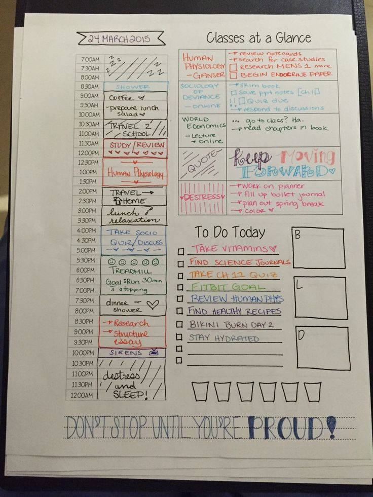 Best 25+ Daily schedule template ideas on Pinterest Daily - sample student agenda