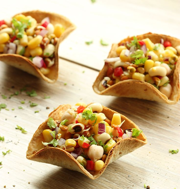 103 best finger food ideas images on pinterest cheap recipes mexican taco bowls with mixed bean salsa wedding finger foodsnacho forumfinder Gallery