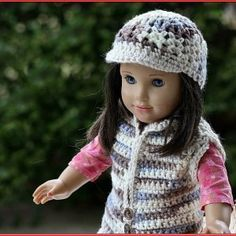 Free Crochet Patterns For American Girl Doll Hats