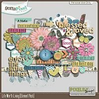 {Life Worth Living} Digital Elements by Pixelily Designs available at Gotta Pixel http://www.gottapixel.net/store/product.php?productid=10017142&cat=&page=1 #digiscrap #digitalscrapbooking #pixelilydesigns #lifeworthliving