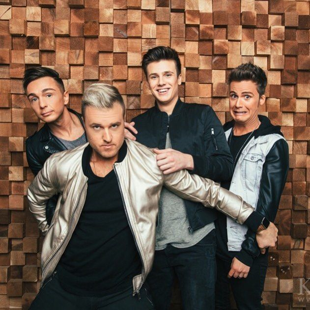 Anthem Lights | Chad looks like the protective father of 3 really weird children