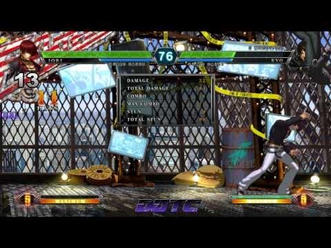King of Fighters XIII - Iori, Unbridled Instinct, combo tutorial #KOFXIII