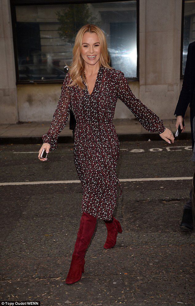 Amanda Holden reveals her fairy godmother dress is ripped off #dailymail