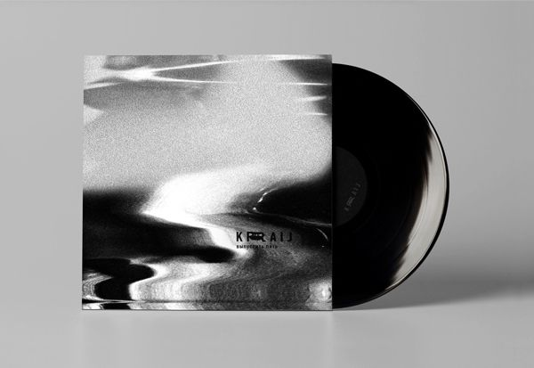 KRAIJ Berlin techno label 2013 by Luca Banchelli, via Behance