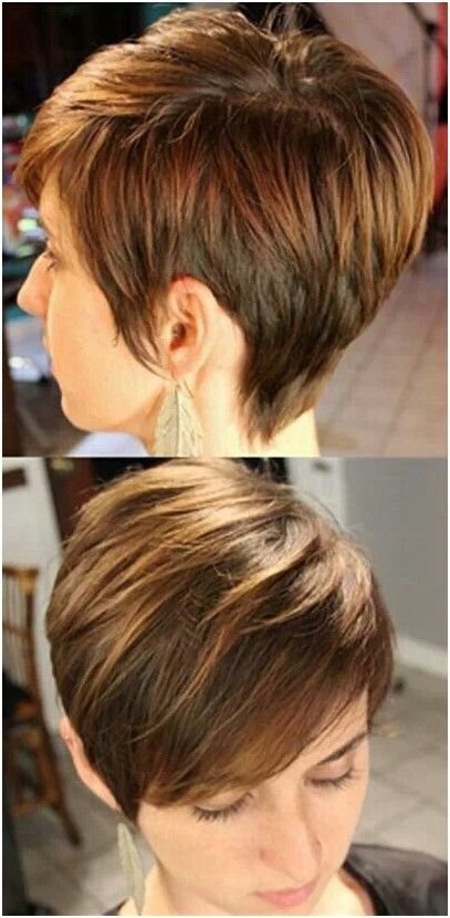 Best Short Layered Haircut: Side View.... this website has lots of cute short styles